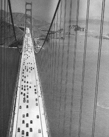 The Golden Gate Bridge, Summer PM