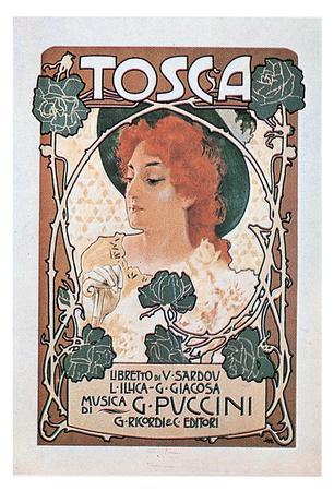 Leopoldo Metlicovitz- Vintage Puccini Tosca (Italian)
