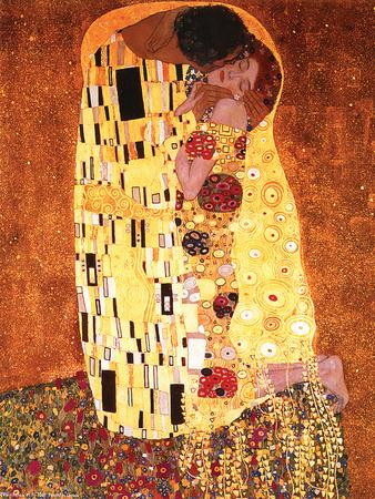 Gustav Klimt- The Kiss