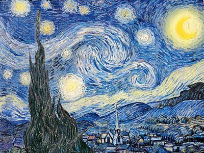 Vincent Van Gogh- Starry Night, c. 1889