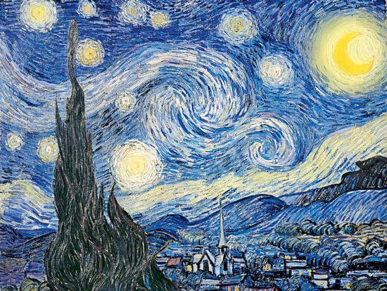 Vincent Van Gogh- Starry Night, C. 1889 Print By Vincent