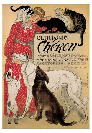 Theophile Steinlen- Clinique Cheron