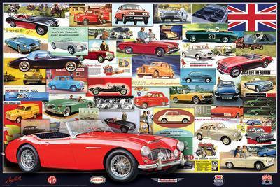British Motor Heritage Vintage Ads Collection