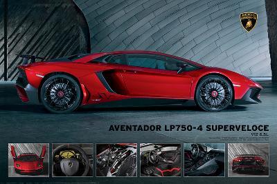 Lamborghini Aventador 750 4 Superveloce Prints At Allposters Com