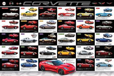Chevrolet: Corvette- Evolution Specs