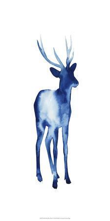 Ink Drop Rusa Deer I
