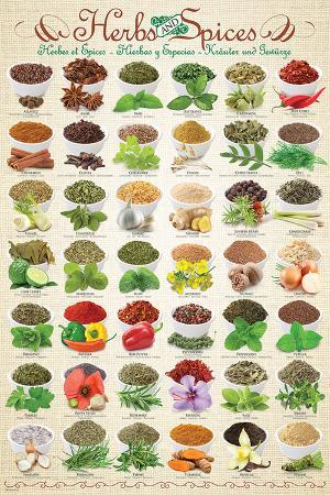 Herbs & Spices Collage
