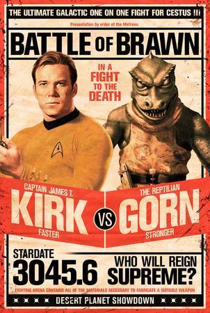Star Trek- Kirk vs Gorn Stardate 3045.6