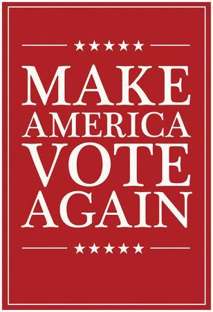 Make America VOTE Again - Red