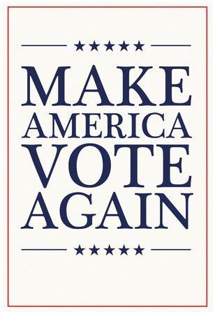 Make America VOTE Again - White