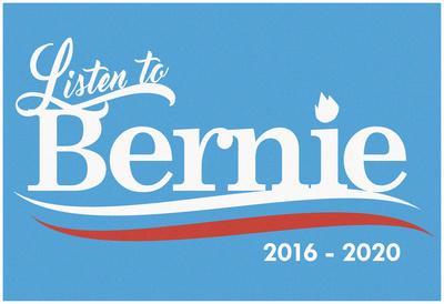 Listen To Bernie, 2016-2020 - Baby Blue
