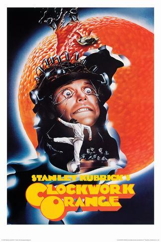 CLOCKWORK ORANGE POSTER TV FILM  CLASIC WALL LARGE IMAGE GIANT