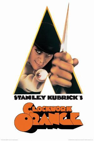 نتيجة بحث الصور عن clockwork orange poster