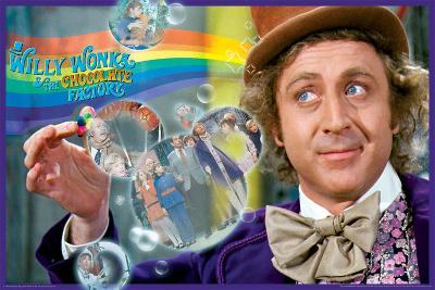 Willy Wonka- Rainbow Vision