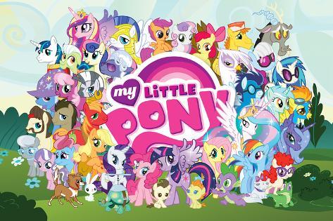 My Little Pony Friendship is Magic My Little]