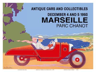 Marseille, France - Antique Cars and Collectibles - Le Parc Chanot Center - Cyclecar Morgan