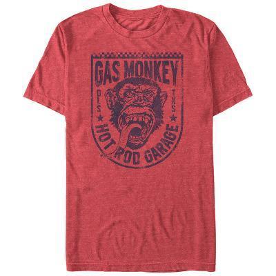 Gas Monkey- Hot Rod Monkey Badge