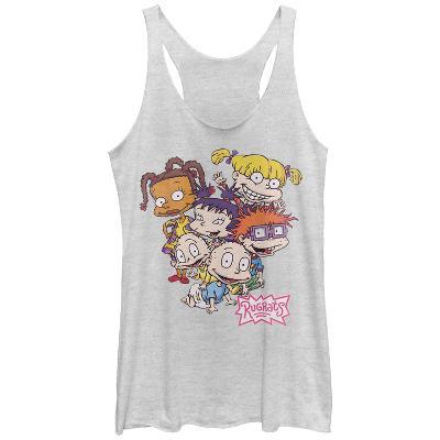 Juniors Tank Top: Rugrats- All Together Scoop Neck
