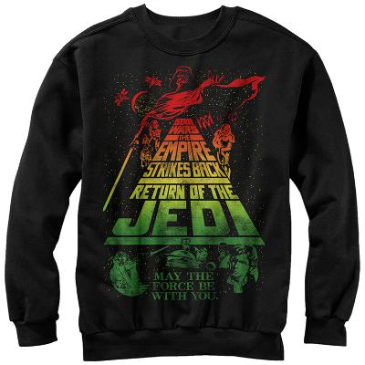 Crewneck Sweatshirt: Star Wars- Title Scrawl