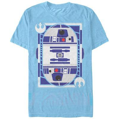 Star Wars- R2-D2 Face Card