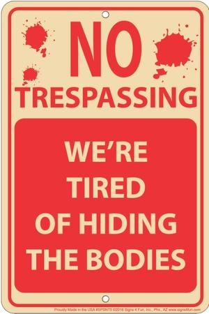 Hiding Bodies