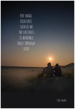 Bearable Through Love Posters At AllPosters New Carl Sagan Love