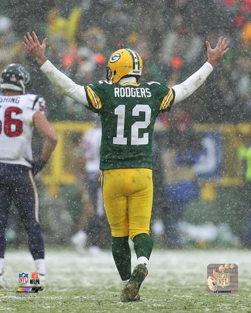 NFL Aaron Rodgers 2016 Action