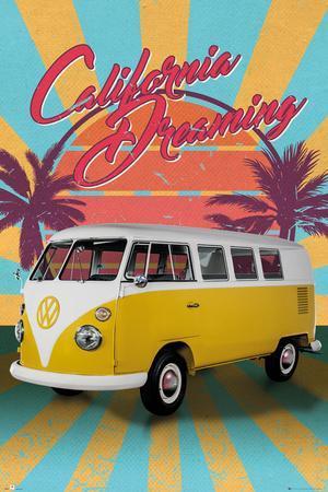 VW- California Dreaming Camper Van