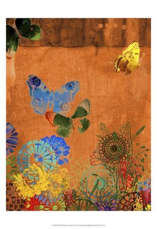 Butterfly Panorama Triptych I