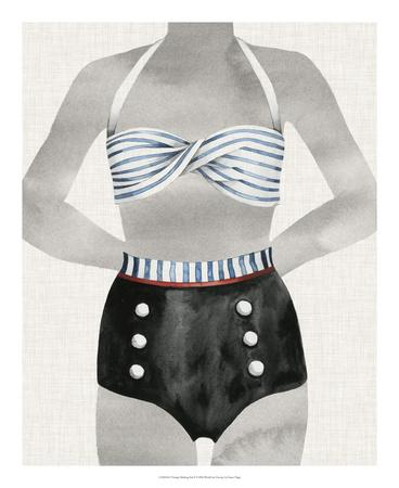 Vintage Bathing Suit I
