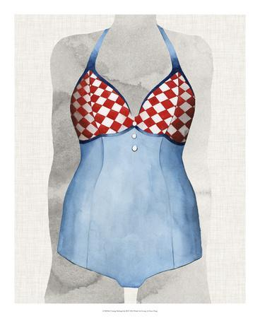 Vintage Bathing Suit III