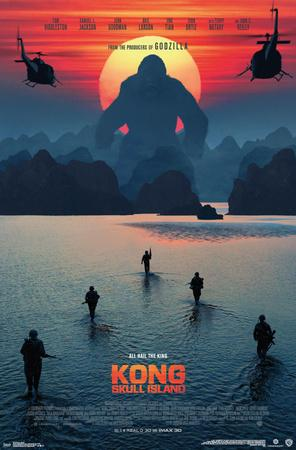 Kong: Skull Island- Beach Sunset (Apocalypse Now style)