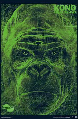 Kong: Skull Island- LANDSAT Scan