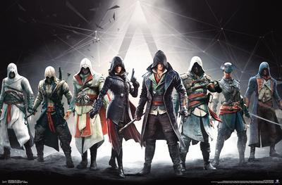Assassin S Creed Lineage Banner Poster Allposters Com