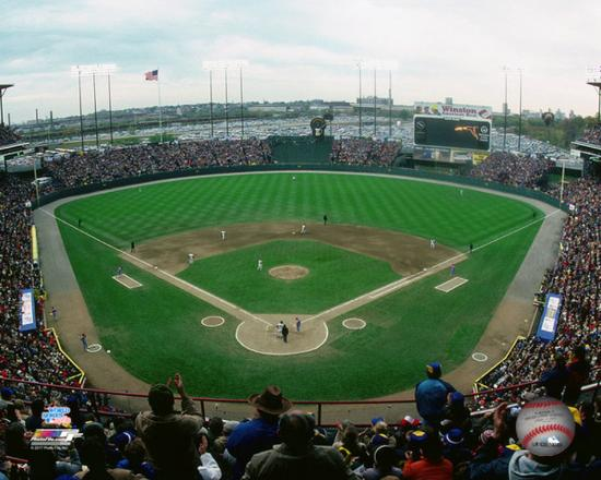 MLB: Milwaukee County Stadium 1982 World Series Photo at ...