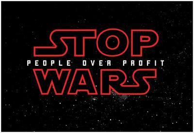 Stop Wars - People over Profit