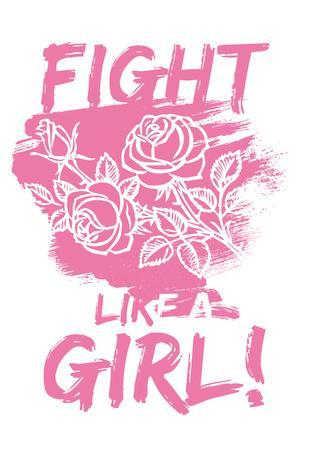Fight Like A Girl! - Pink