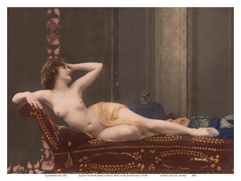 TAMEKA: Art classic erotic