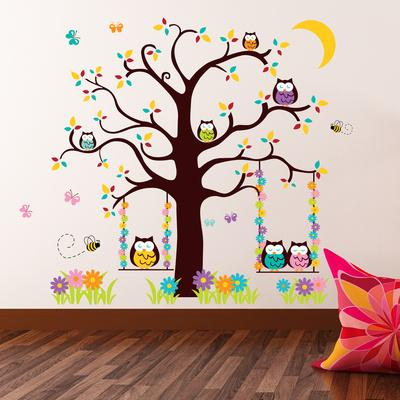 owl tree 2 wall decal at allposters