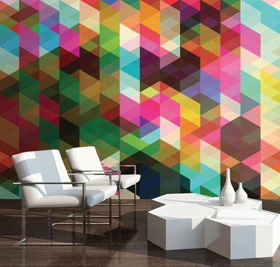 Geometrix Wall Mural