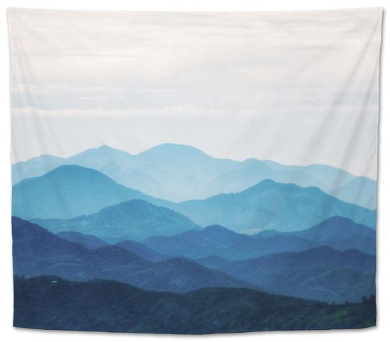 Blue Mountains Tapestry By Photoinc At Allposters Com