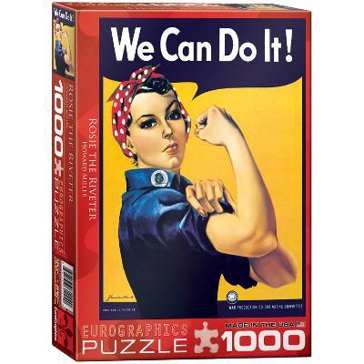 Rosie the Riveter by Howard Miller 1000 Piece Puzzle