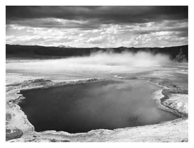 Fountain Geyser Pool, Yellowstone National Park, Wyoming, ca. 1941-1942