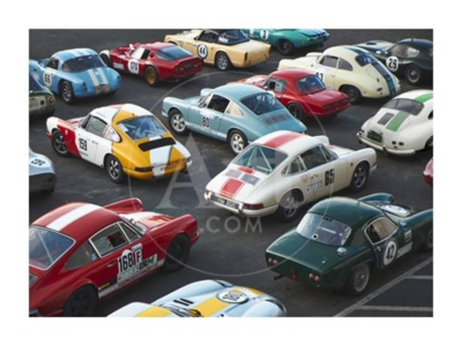 Vintage Sport Cars At Grand Prix Nurburgring
