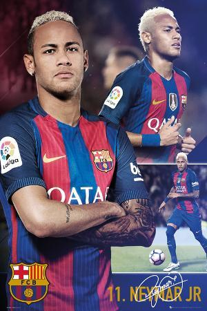 Barcelona Fcb- Neymar Collage