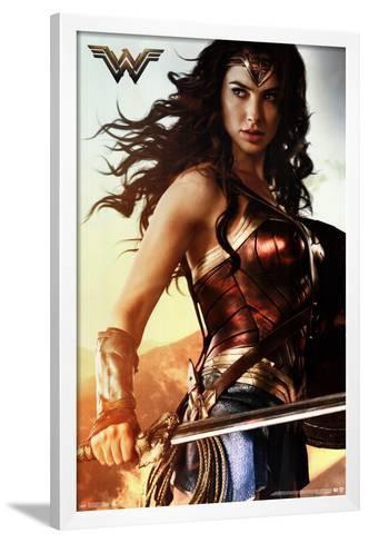 "Superhero Wonder Woman Shield Wall Poster Modern Home Decor Collection 22/"" x 34/"""