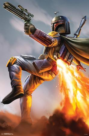 Star Wars- Boba Fett Rocket Action