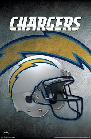 Los Angeles Chargers- Helmet 17