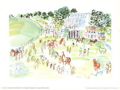 The Paddock at Longchamp