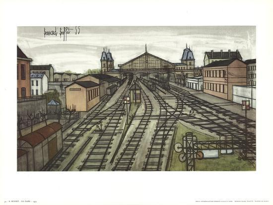 La Gare Prints By Bernard Buffet At AllPosters.com